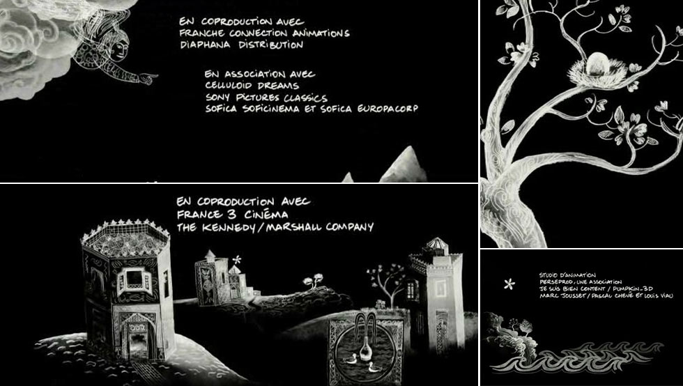 Persepolis Title-Sequence
