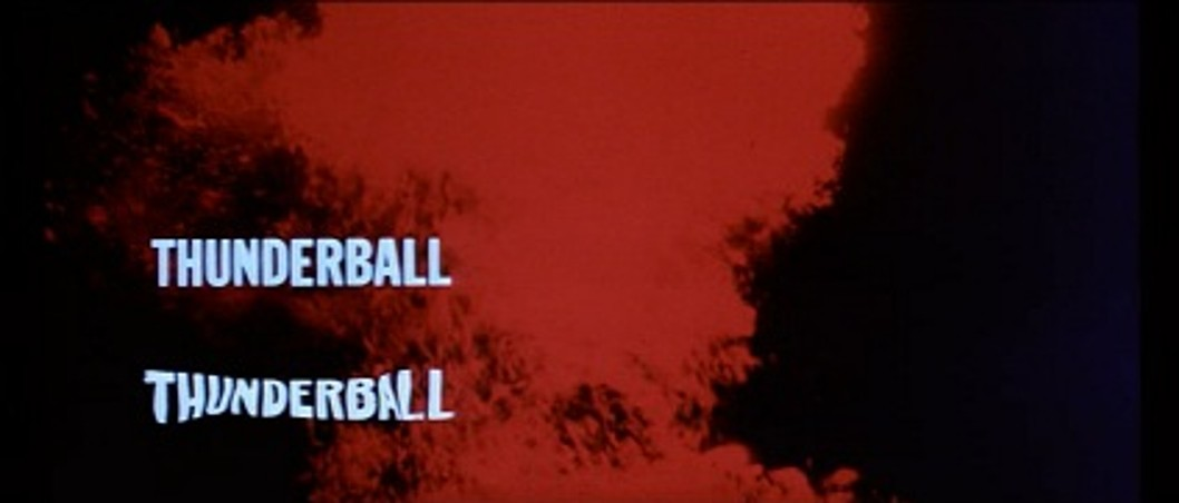 Thunderball Opening Title Sequence